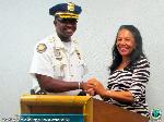 Chief Foy speaks at Rotary East (pic 1)