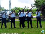 Fallen Officers are honored with a 21-gun salute
