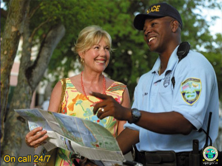 Welcome to the USVI Police Department